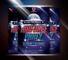 AIR FORCE PARTY by afizs