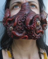 Deluxe Custom Tentacle Mask by missmonster