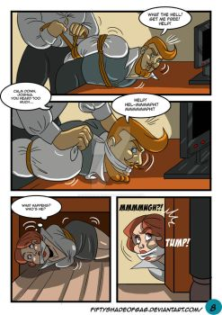 cindy and the Boss COMIC PAGE 8 by fiftyshadeofgag