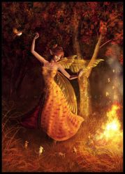 Fire Dance by cosmosue