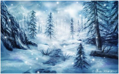 Land Of Winter by Isriana