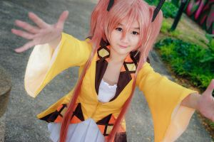 Black Bullet - Enju Aihara by Xeno-Photography