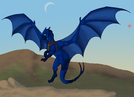 :Art Trade: First Flight by Tuba-dragoness