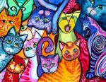 Colorful Cats 2 by jempavia