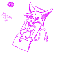 Espeon by omgtirgafr