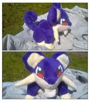 Rattata Plush by LRK-Creations