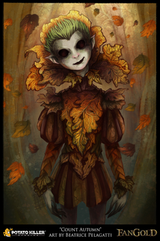 Fangold Card Art - Count Autumn by BiPiCado
