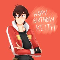 Fanart - Happy birthday Keith !! by ameloodrawing-s