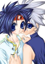 BEYBLADE KAI and RAY by xiaoling
