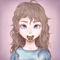 Cookie munch by Niarin-chu