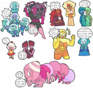 Steven universe AU 6 - More episodes wanted by Abrigedfoamy