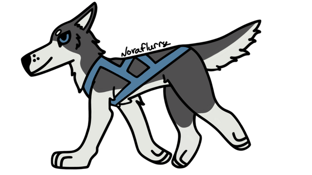 [Contest Entry] Sled Dog by NovaFlurry