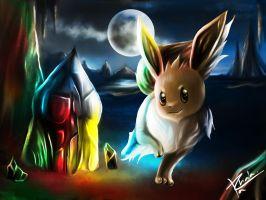 EEVEE AND THE BEGINING OF ELEMENT. by TrachaaArMy