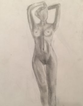 Nude Woman 1 by epjames