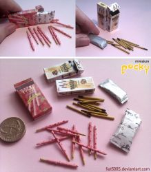Miniature: Pocky sticks by fiat500S
