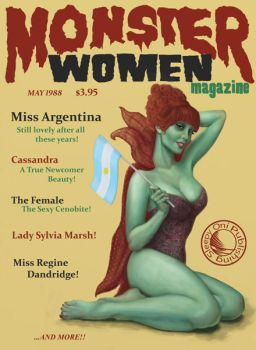 Monster Women Magazine - May 1988 by gruagach666