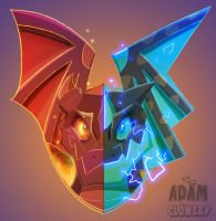 Fire and Lightning by Adam-Clowery
