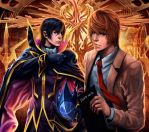 KIRA and ZERO : Men of Justice by Clearmirror-StillH2O