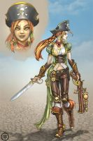 Pirate Lass by Vermin-Star