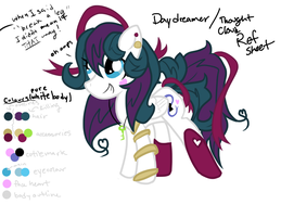 Another Daydreamer ref sheet by SymphonyArts