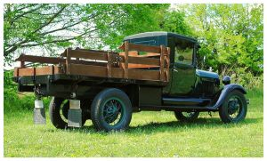 An Old Ford 1 1/2 Ton Flatbed Truck by TheMan268