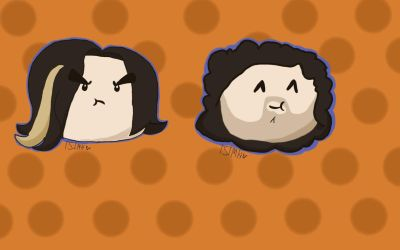 Chibi Grump heads by SyrinxPriest2112
