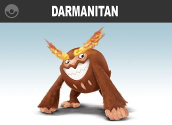 Darmanitan Body Bags the Competition! by locomotive111