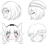 Second batch of Headshot Requests by 2kaze