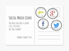 Social Media Icons by Sirri-R-P