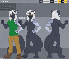 Khrome Ref - Commission by sbneko