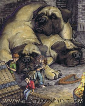 Harry Potter: Book 1 Chapter 16 Painting by TheGeekCanPaint