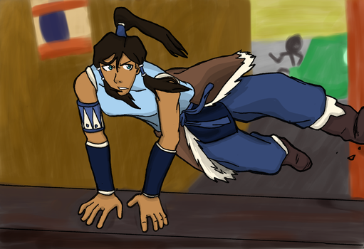 Korra Color and Background by 3nigmatic-3go