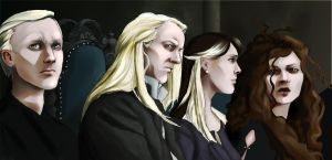 DH: Malfoy family by Nyctale