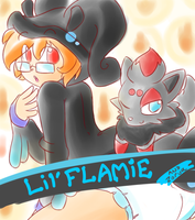 Lil Flamie-ABDL Trading Card by RFSwitched