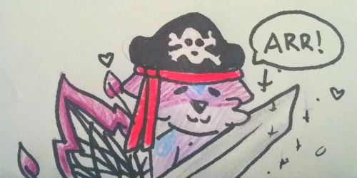 #34 - Pirate! by Etrenelle