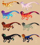 {OPEN} Raptor Adopts by Lordfell