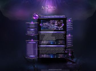 Fantasy Webdesign Project by LA-Studio by LA-Graphic