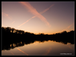 X Marks the Sunset by Mogrianne