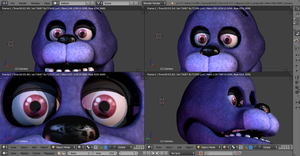 Bonnie WIP - Blender Version by GamesProduction