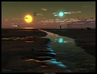 Shores of Orion by ArthurBlue