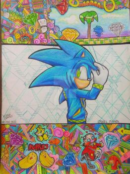 Sonic the Hedgehog by heitor-jedi
