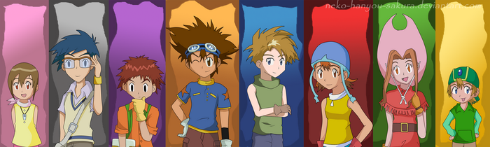 Digimon 12th Anniversary by Neko-Hanyou-Sakura