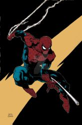 Stegman Spidey coloring pratice by tgcomicartist