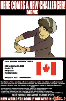 A new challenger by pkzombie