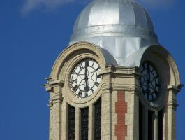 08 08 15 Clock Tower And Plane 017 by sfishffrog