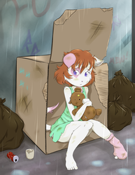 Box Cat by RisingDragonArt