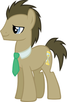 Request: Doctor Whooves vector by Pangbot