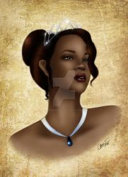 Tiana in Color by madmoiselleclau