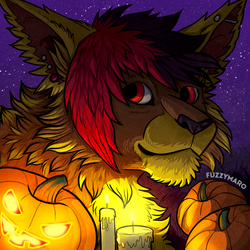 Halloween avatar by FuzzyMaro