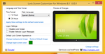 Lock Screen Customizer for Windows 8.1 v1.0.0.1 by hb860